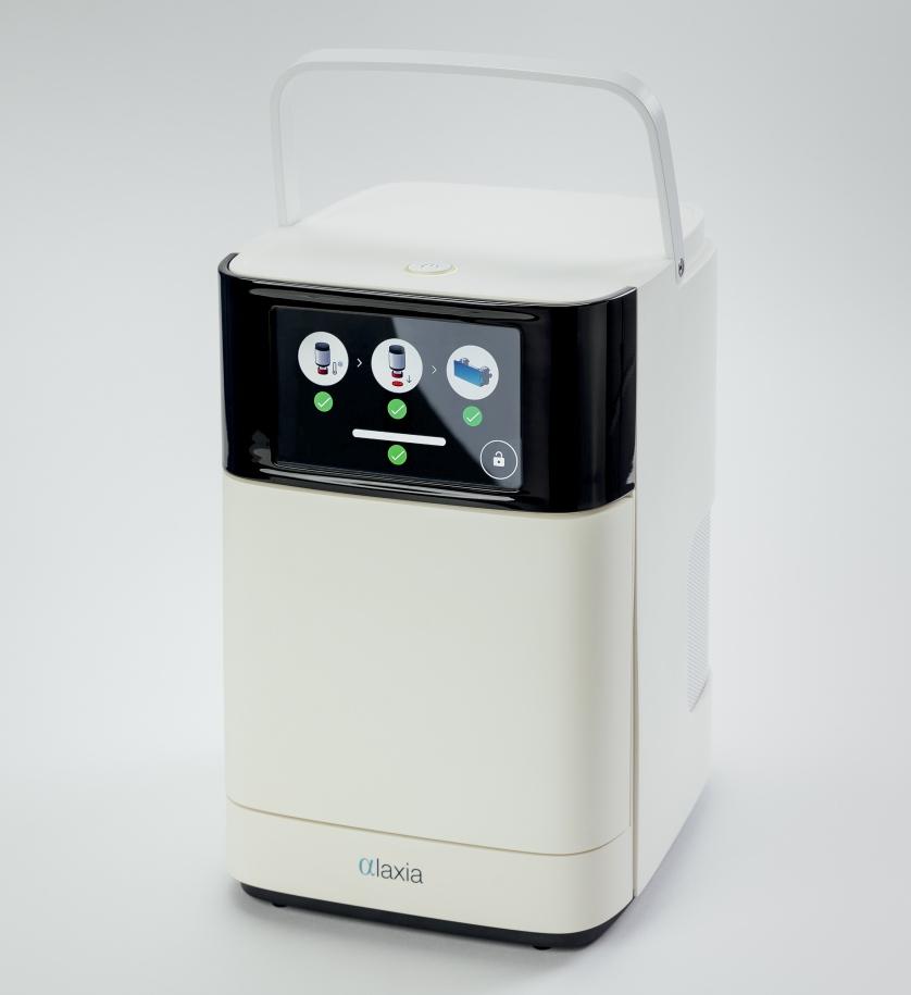 Alaxia machine synthèse médicament Creative Eurecom